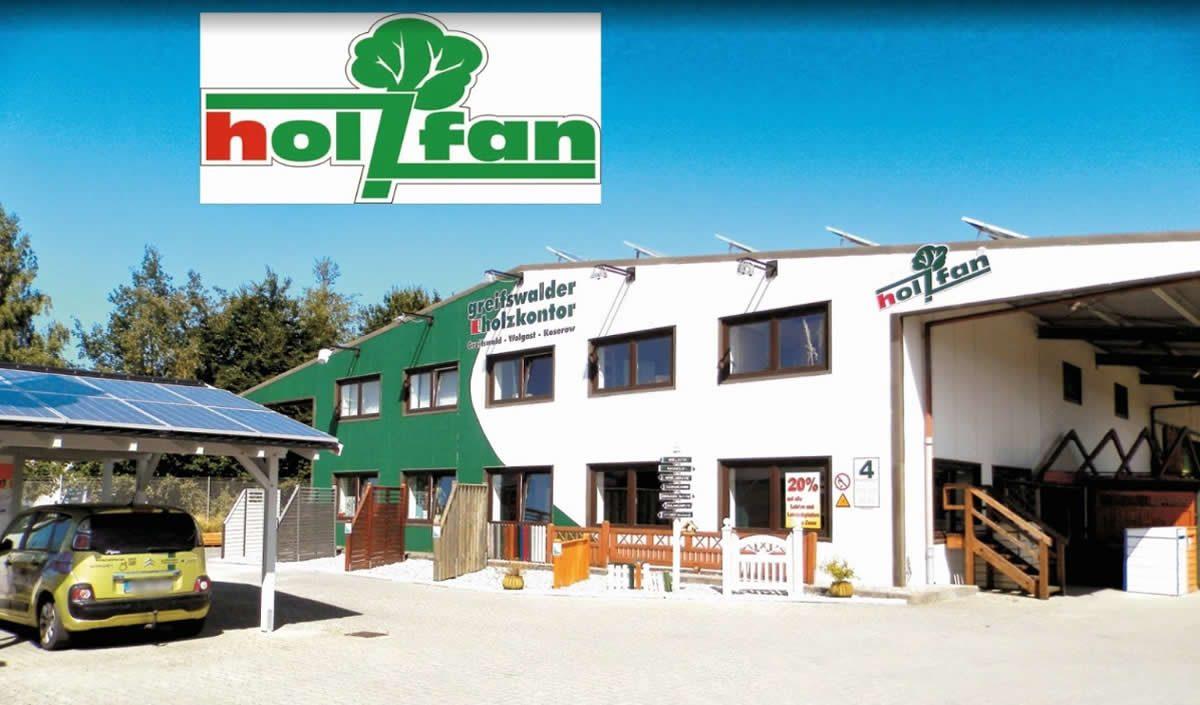 Holzhandel Hanshagen - Holzfan: Parkett, Carport, Holzschutz